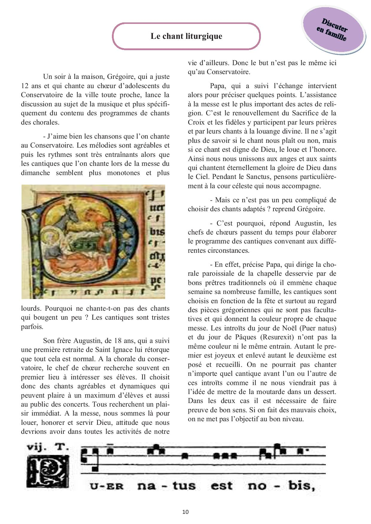 Le chant liturgique